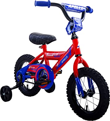 "Red Sports Training Wheels for Most 12/""-20/"" Bike Kids Bicycle Training Xmas Gift"