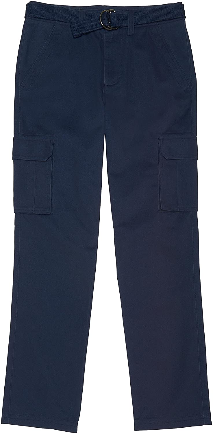 French Toast School Uniform Boys Belted Cargo Pants SK9508