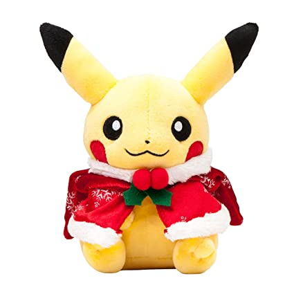 pokemon center original stuffed toy christmas illuminations pikachu 2015 - Christmas Pikachu