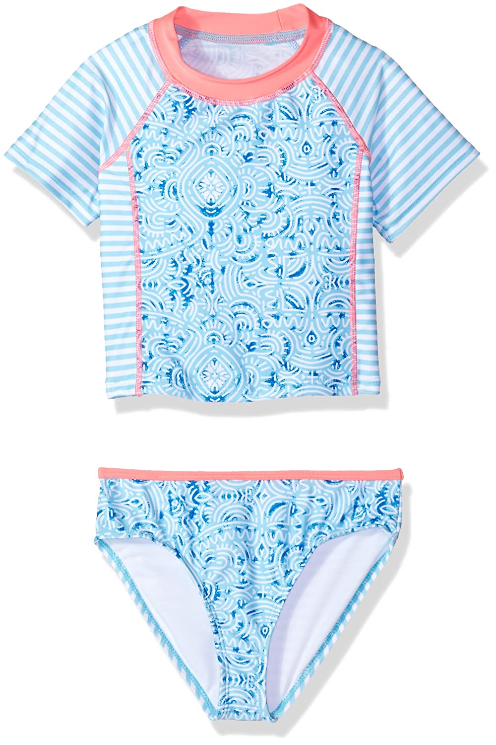 Jantzen Little Girls Neo Nautical Rashguard Set
