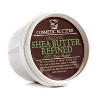 Shea Butter Refined Organic - 100% Pure and Natural - 100g