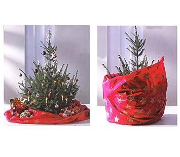 Tannenbaum Wegwerfen.Amazon De 2in1 Weihnachtsbaumdecke Und Entsorgungsbeutel
