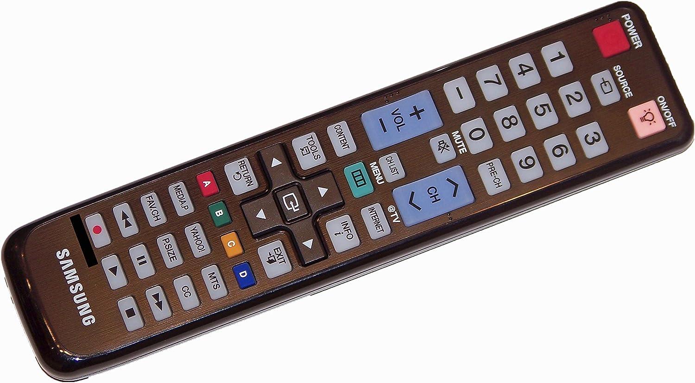 UN46C6500VF UN46C6400RFXZC UN46C6500V OEM Samsung Remote Control: UN46C6400RFXZA UN46C6500 UN46C6500VFXZA