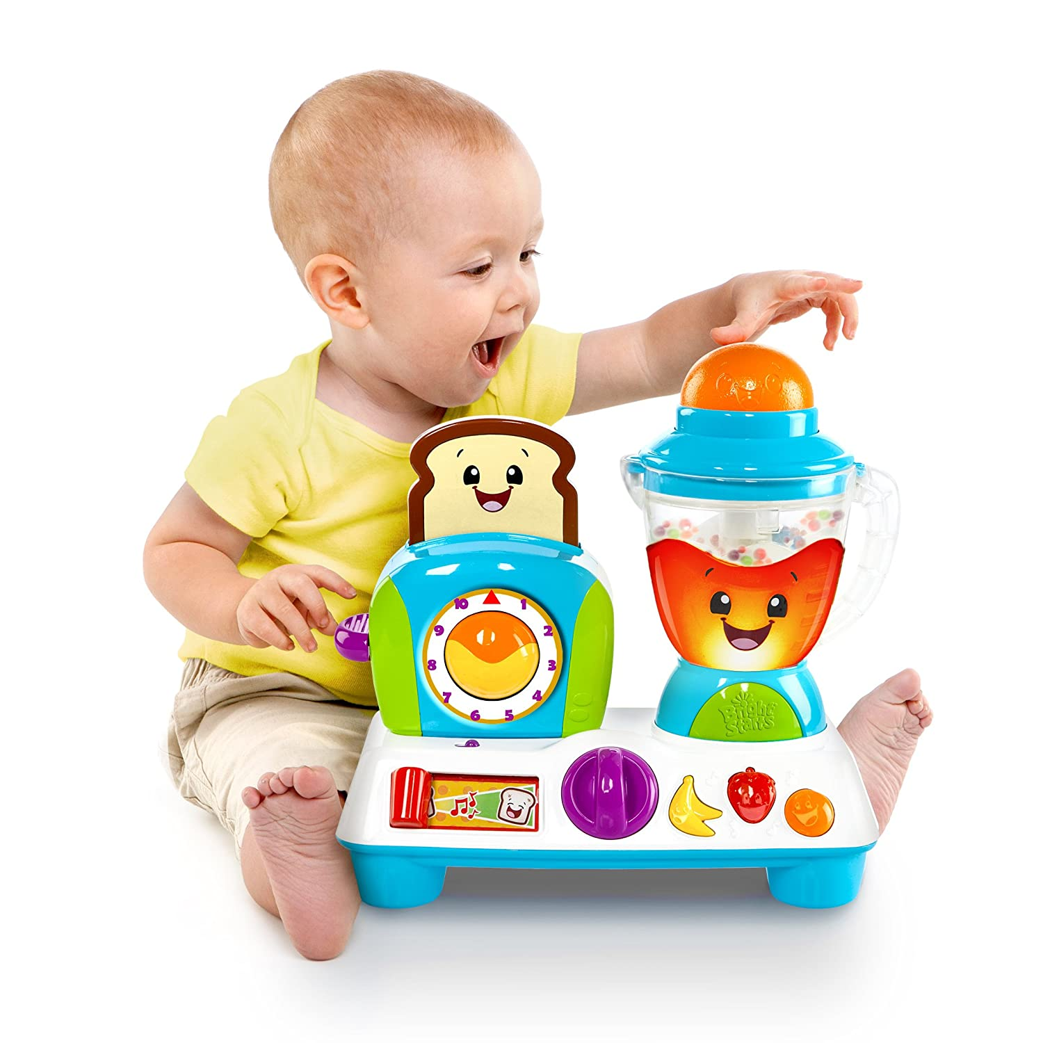 BRIGHT STARTS Giggling Gourmet Rise n Dine Busy Cafe Toy Bright