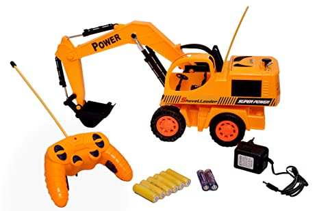 Buy Toyshine Remote Control Jcb Truck With Stunts Rechargeable
