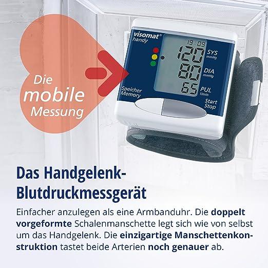Visomat handy - Tensiómetro de muñeca: Amazon.es: Salud y cuidado personal