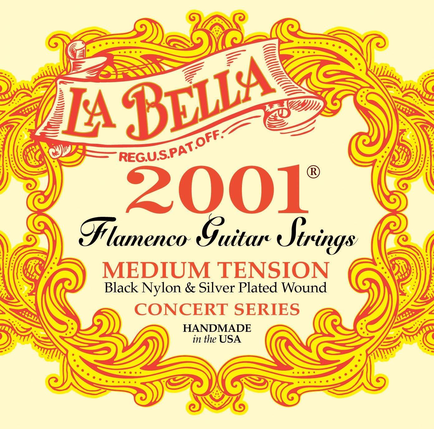La Bella B2001FM - Juego cuerda flamenco: Amazon.es: Instrumentos ...