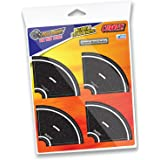 "PlayTape 2"" Tight Curves – Create Curves On Your PlayTape Roads Anytime, Anywhere – Perfectly Adjoins with Your Classic Road Tape – Perfect for Kids Who Love Cars & Trains (2"" Tight Curve Road) 8 Pack"
