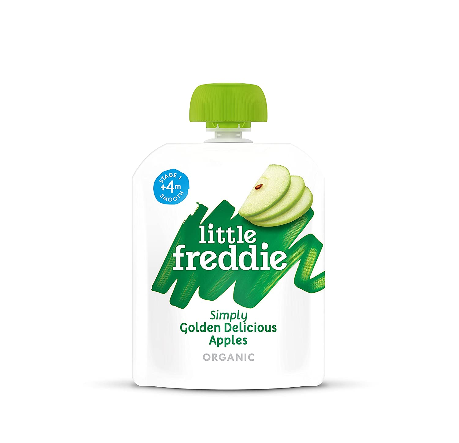 Little Freddie Organic Baby Food - Butternut Squash, Peas & Kale Pouch (Pack of 6x100g) UK401