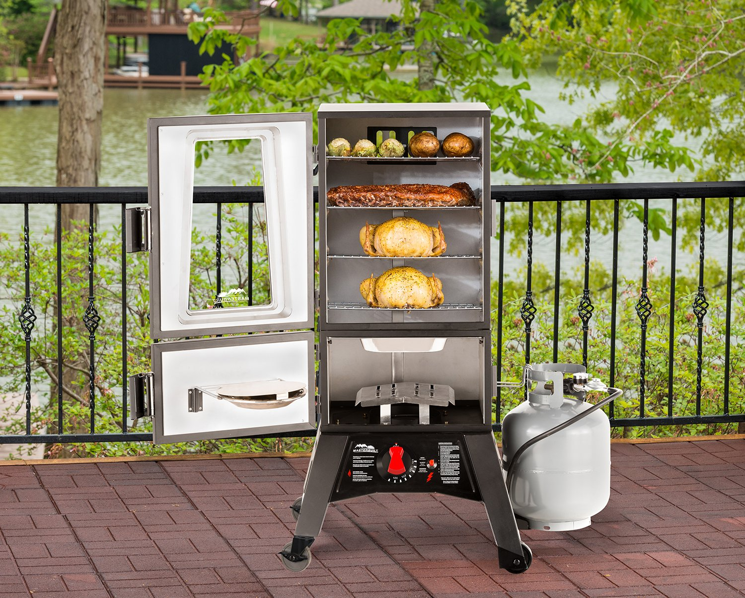 all bloggers den - Smoker Grill