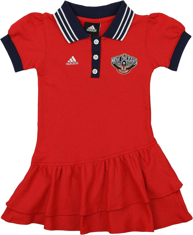 adidas NBA - Vestido Polo para niña, Atlético, M, Rojo: Amazon.es ...