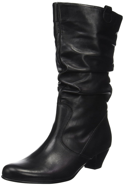 Gabor Shoes Comfort Basic, Botas para Mujer42 EU|Negro (57 Schwarz Micro)