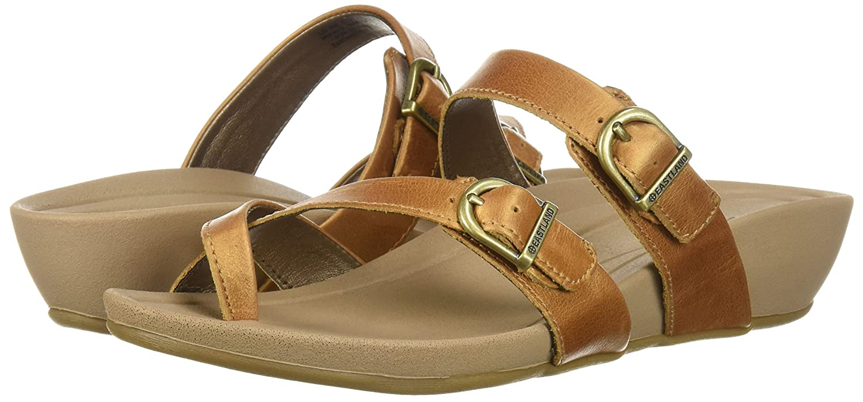 Eastland Women's Hampton Slide Sandal B076QHSJNY 11 B(M) US|Tan