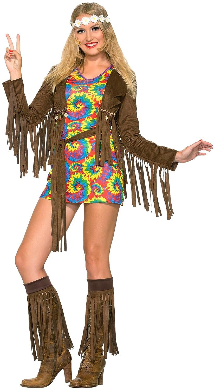 Amazon.com: Forum Novelties Disfraz de hippie Shimmy de la ...