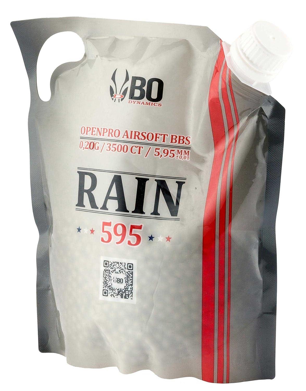 Billes airsoft BO RAIN 0.20 g Sachet 3500 BO Manufacture