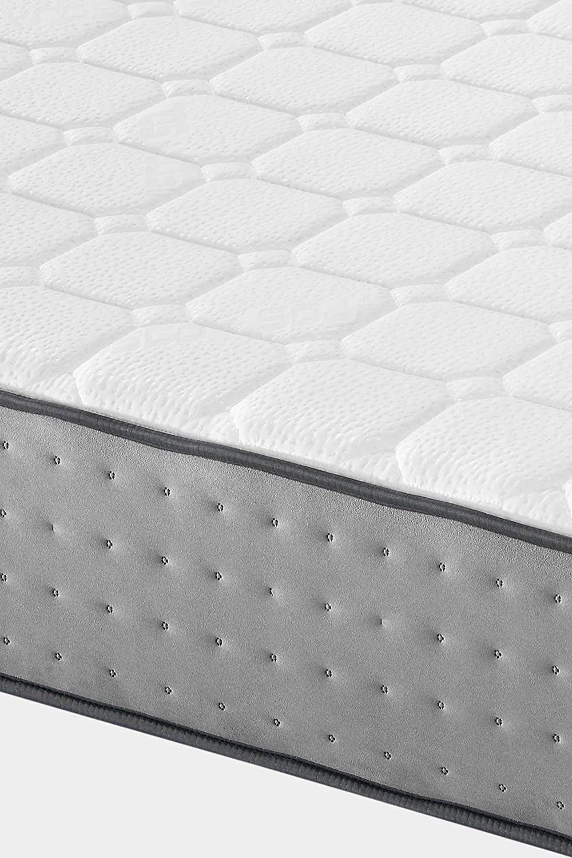 Dormi Premium Elax 30 - Colchón Viscoelástico, 140 x 190 x 30 cm, Algodón/Poliuretano, Blanco/Gris, Matrimonio: Amazon.es: Hogar