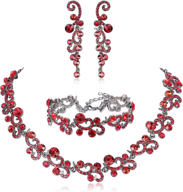 JOERICA Rhinestone Necklace...