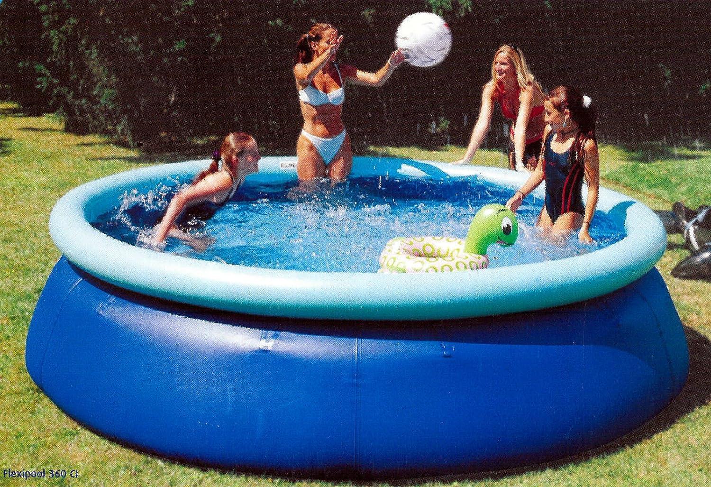 Aqua Sphere Premium Quick Up Completo Pool 300 x 80 con filtro Zodiac: Amazon.es: Juguetes y juegos