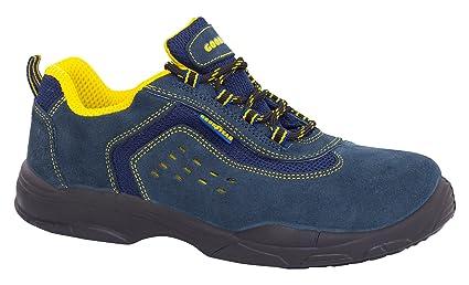 Goodyear G138843C - Botas (piel serraje, talla 41) color azul