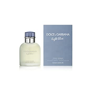 D G Light Blue By Dolce Gabbana For Men Eau De Toilette Spray 4 2 Ounces Light Blue Dolce And Gabbana Men Beauty