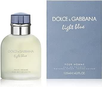 Dolce & Gabbana Eau de Toilette for Men, Light Blue, 125ml