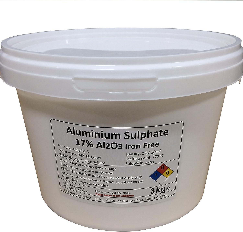 3 kg de sulfato de aluminio al2 (S04) 3 hierro libre – mordiente ...