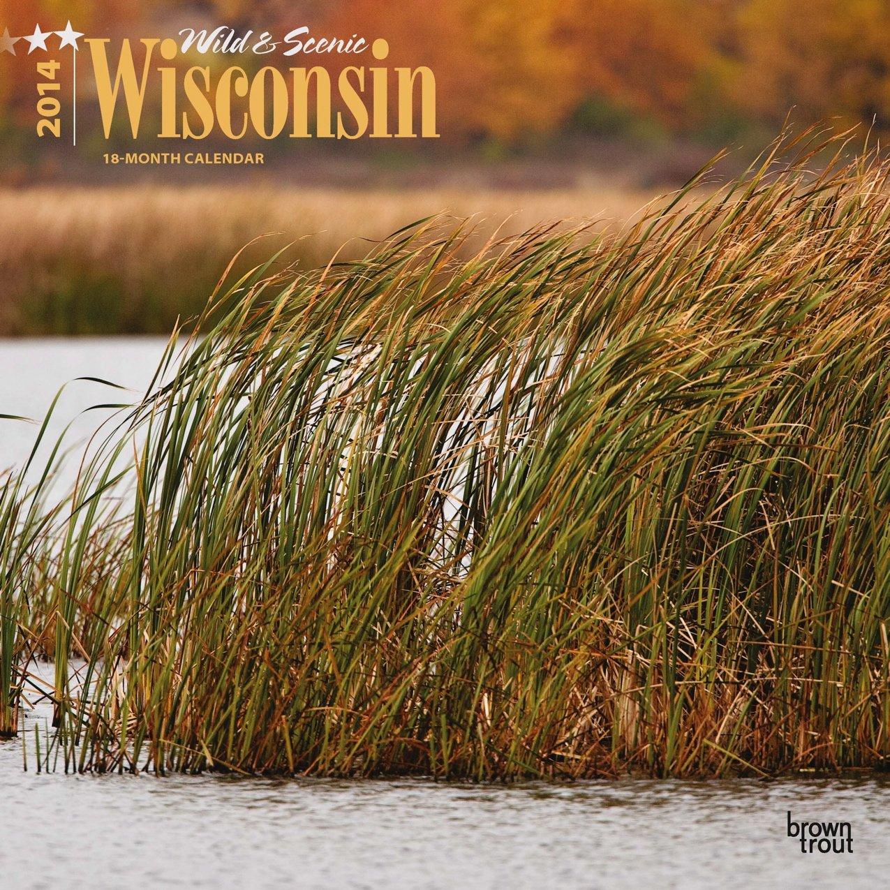 Wild & Scenic Wisconsin 18-Month 2014 Calendar (Multilingual Edition) PDF