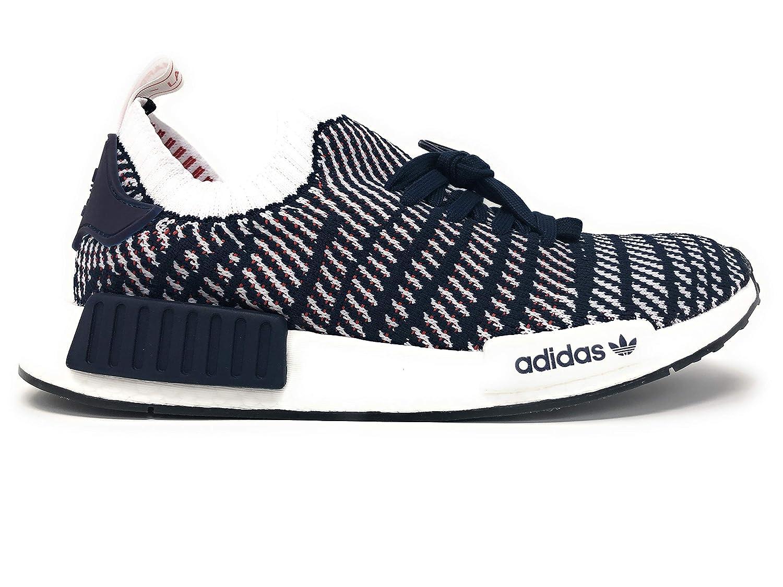 new styles 23cc1 30ba0 Adidas NMD_R1 STLT Primeknit Shoes, Collegiate Navy/Cloud White/Collegiate  Red, D96821 US M 9.5