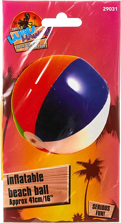 SmiffyS 29031 Pelota De Playa Hinchable, Multicolor: Smiffys ...