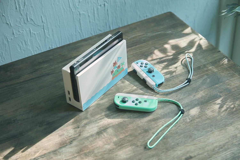Nintendo Switch HW - Consola Edición Animal Crossing - Verde/Azul ...