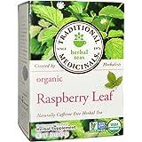 Traditional Medicinal's Raspberry Leaf Tea (3X16 Bag) Net Wt. 0.85 Ounce