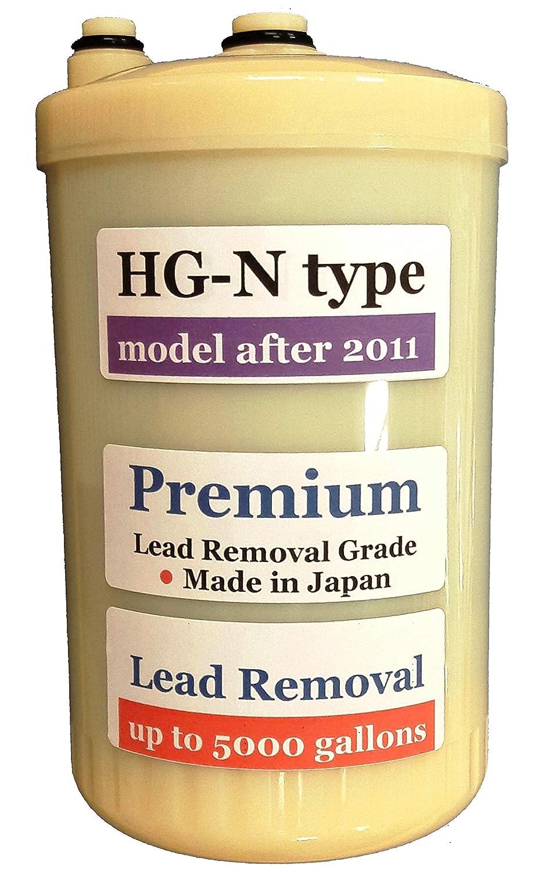 """Japan Made """"HG-N"""" Type Premium Grade Compatible Filter for Enagic Kangen SD501HG-N""""HG-N""""After 2011 Newer Model(Not Compatible with Original HG Before 2010 Models)"""