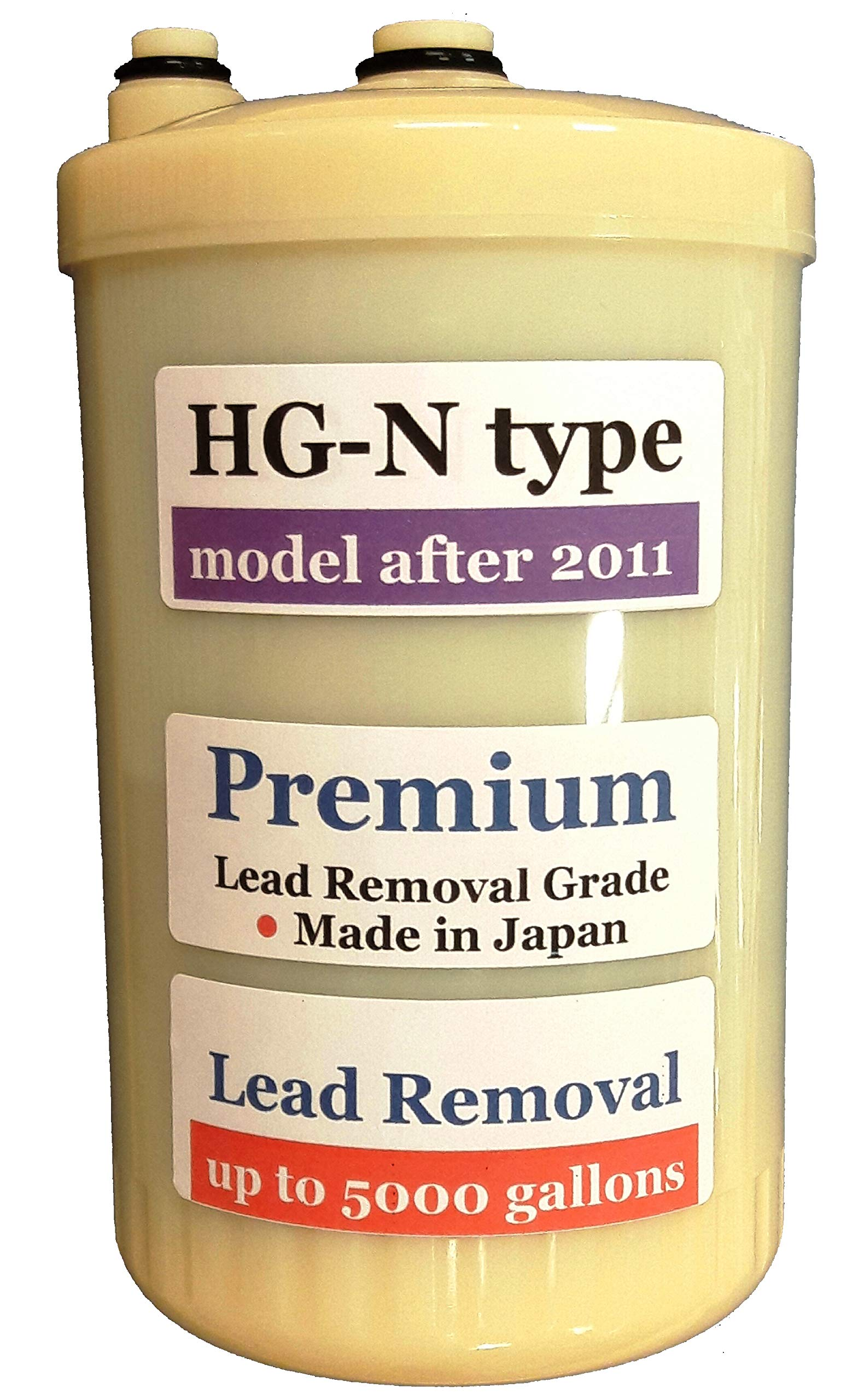 "Japan Made ""HG-N"" Type Premium Grade Compatible Filter for Enagic Kangen SD501HG-N ""HG-N"" After 2011 Newer Model(Not Compatible with Original HG Before 2010 Models)"