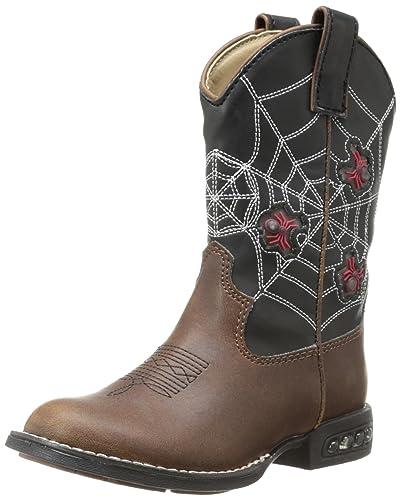 bd950d08181 Roper Light Up Spiders Western Boot (Toddler/Little Kid)
