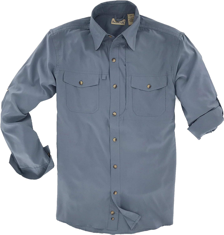 Backpacker Mens Mens Short Sleeve Solid Western