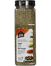 Club House, Quality Natural Herbs & Spices, Sage Leaves, 180g