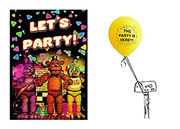 Image Unavailable Not Available For Color Five Nights At Freddys Party
