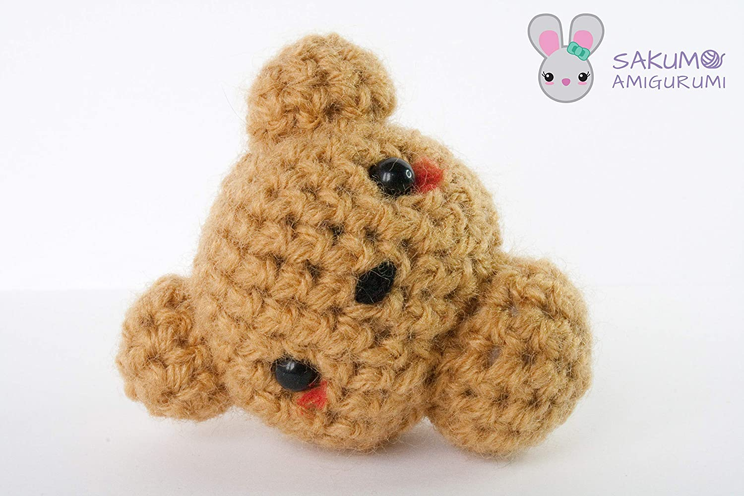 CUTE FREE PATTERN of Bear Amigurumi doll - Use it as a Bag charm ... | 1000x1500