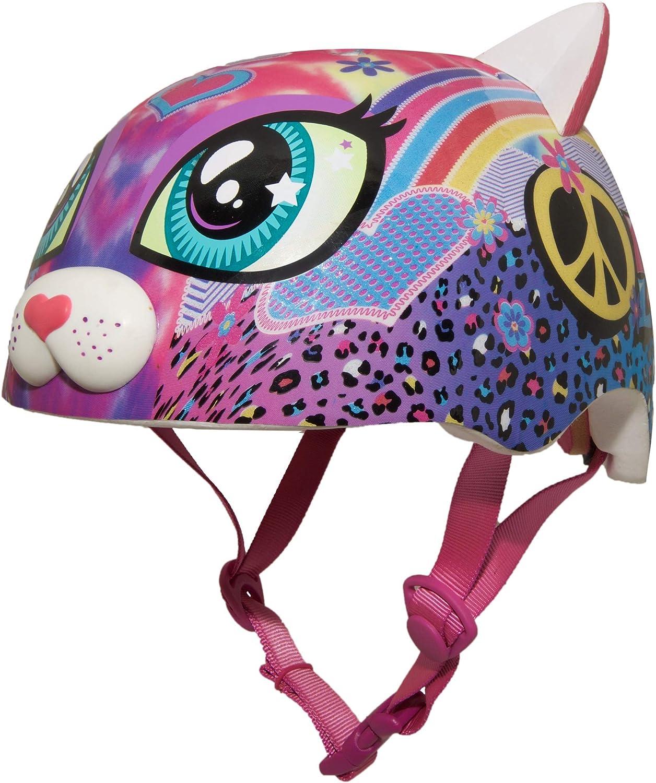 Raskullz Kitty Cat Toddler 3 Helmets and Child 5