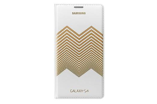80 opinioni per Samsung EF-WG900RLEGWW Flip Walletcase per Samsung Galaxy S5 Bianco/gold