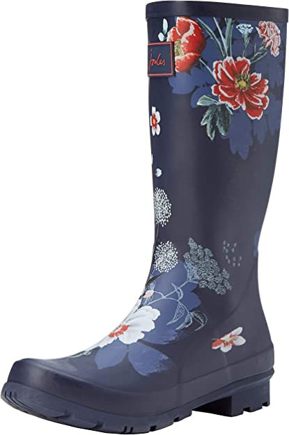 Tom Joule Welly Print Damen Gummistiefel Regenstiefel NEUE DESIGNS