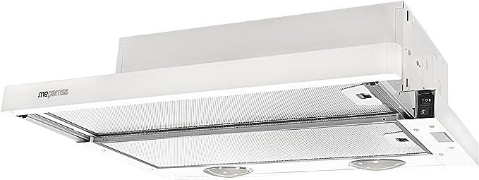 Mepamsa Compacta 60 V2 Campana aspirante extraplana, color blanco, 28 W, 2 Velocidades: Amazon.es: Grandes electrodomésticos