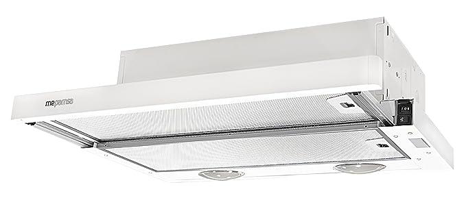Mepamsa Compacta 60 V2 Campana aspirante extraplana, color blanco ...