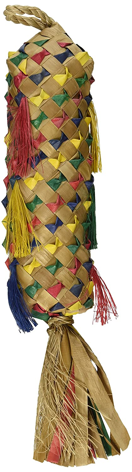 Planet Pleasures Spiked Pinata Natural Bird Toy Medium/11 Nor Pac Pet Products 3114