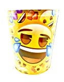 emoji Wastebasket,Colorful, Tin