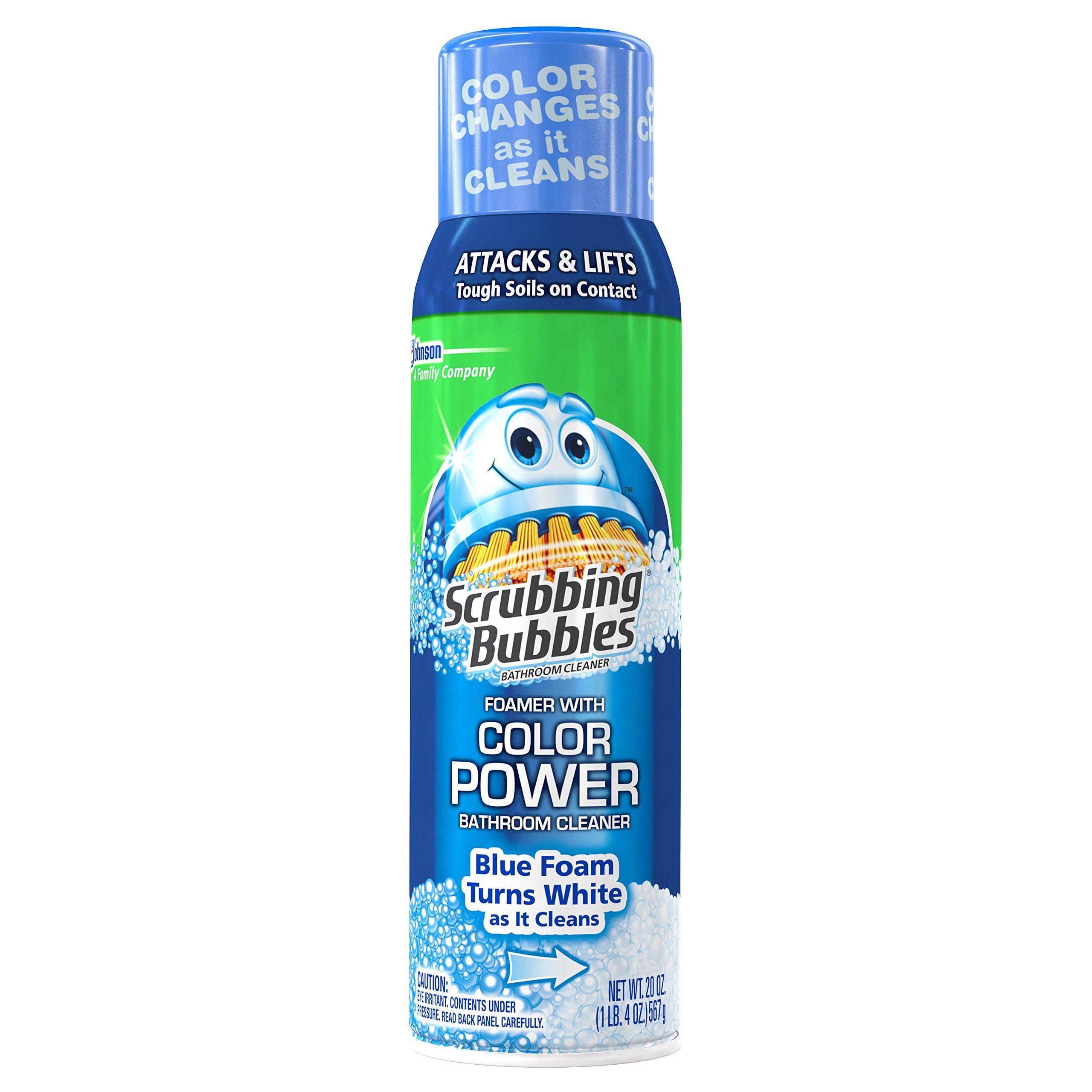 Scrubbing Bubbles Bathroom Cleaner Foamer with Color Power 20 oz (Pack of 2) by Scrubbing Bubbles