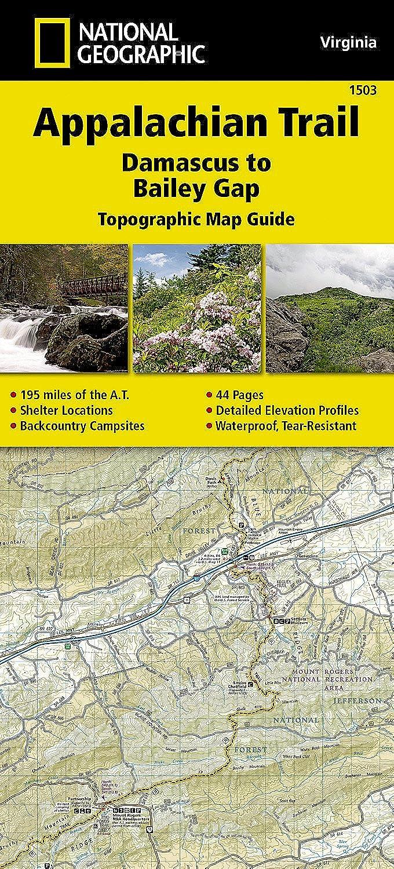 Amazon.com: Appalachian Trail, Damascus to Bailey Gap ...