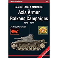 Camouflage & Markings of Axis Armor in the Balkans Campaigns 1940-1941