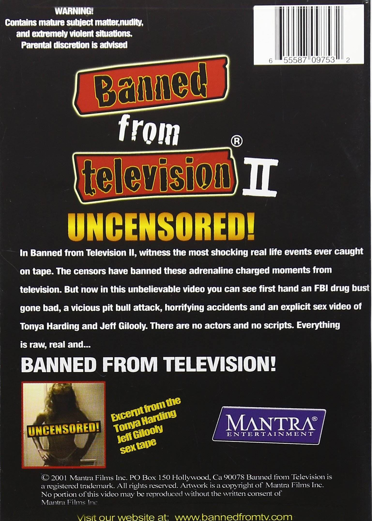 Banned From Television, Vol. 2 by Ggw Brands