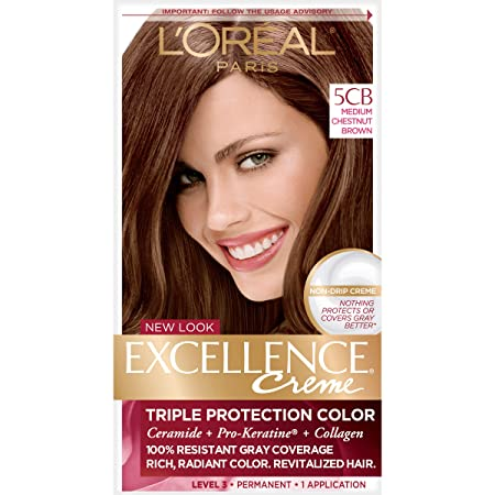 Amazoncom Loréal Paris Excellence Créme Permanent Hair Color 5cb